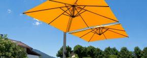 Sonnenschirm Seitenmastschirm Ampelschirm