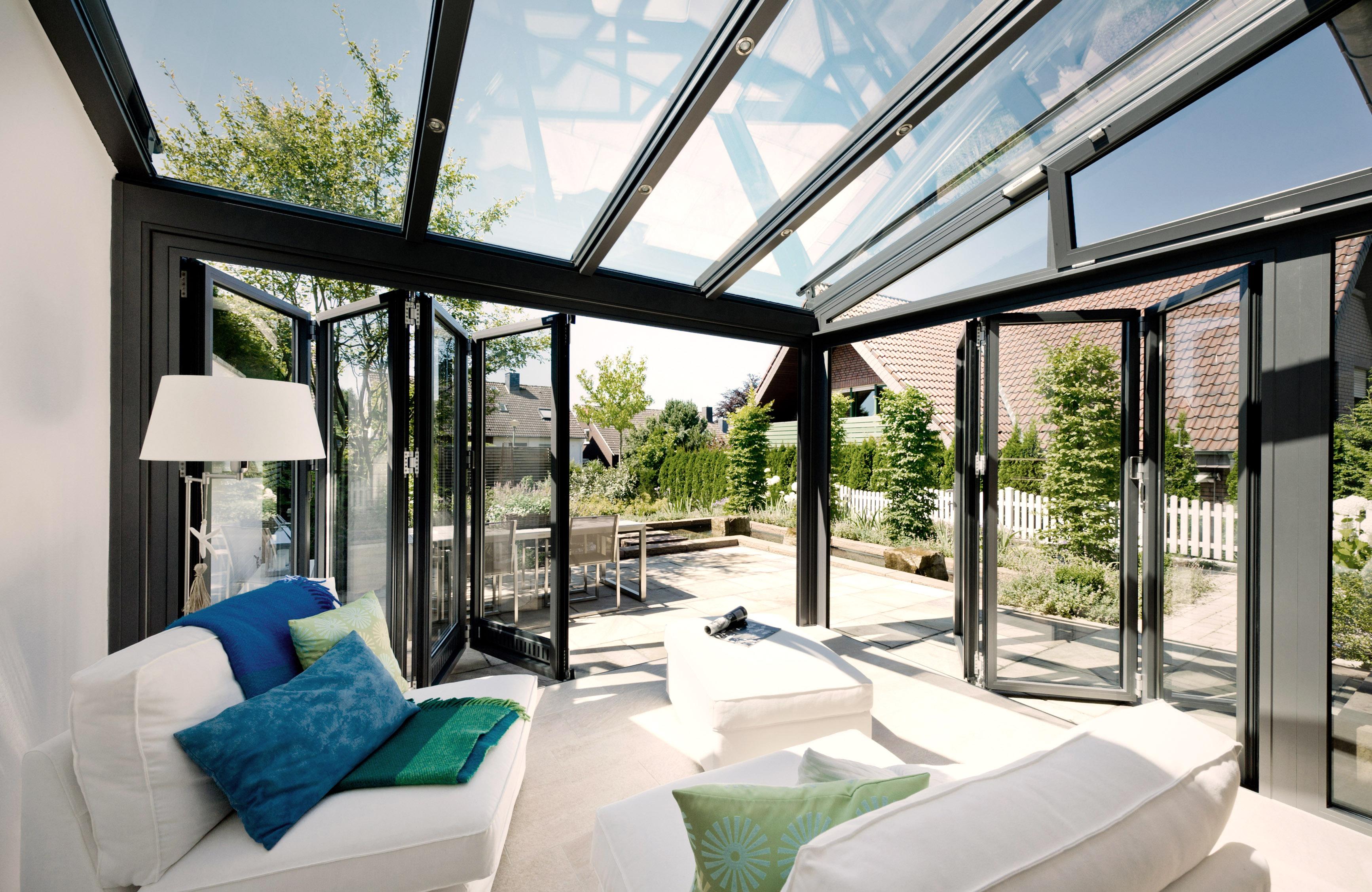 Falttüren Wintergarten solarlux wintergärten falttüren schiebetüren raumausstatter
