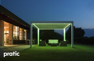 LED Practic Pergolas